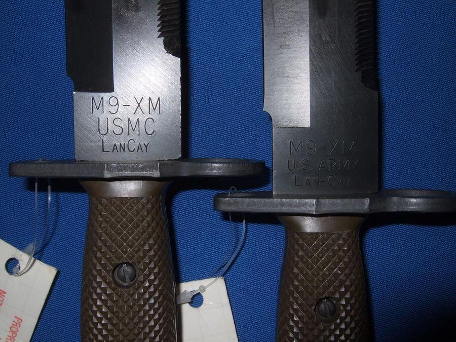 M9m4 Bayonet Collection Knife Buck Lancay Phrobis